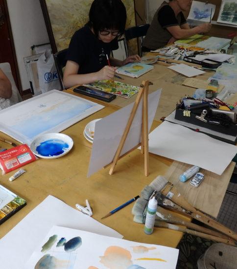 岸和田で絵画を学ぶ