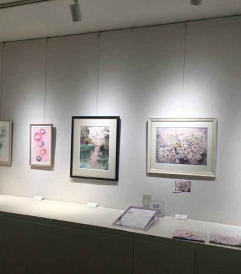 桜の便り 個展