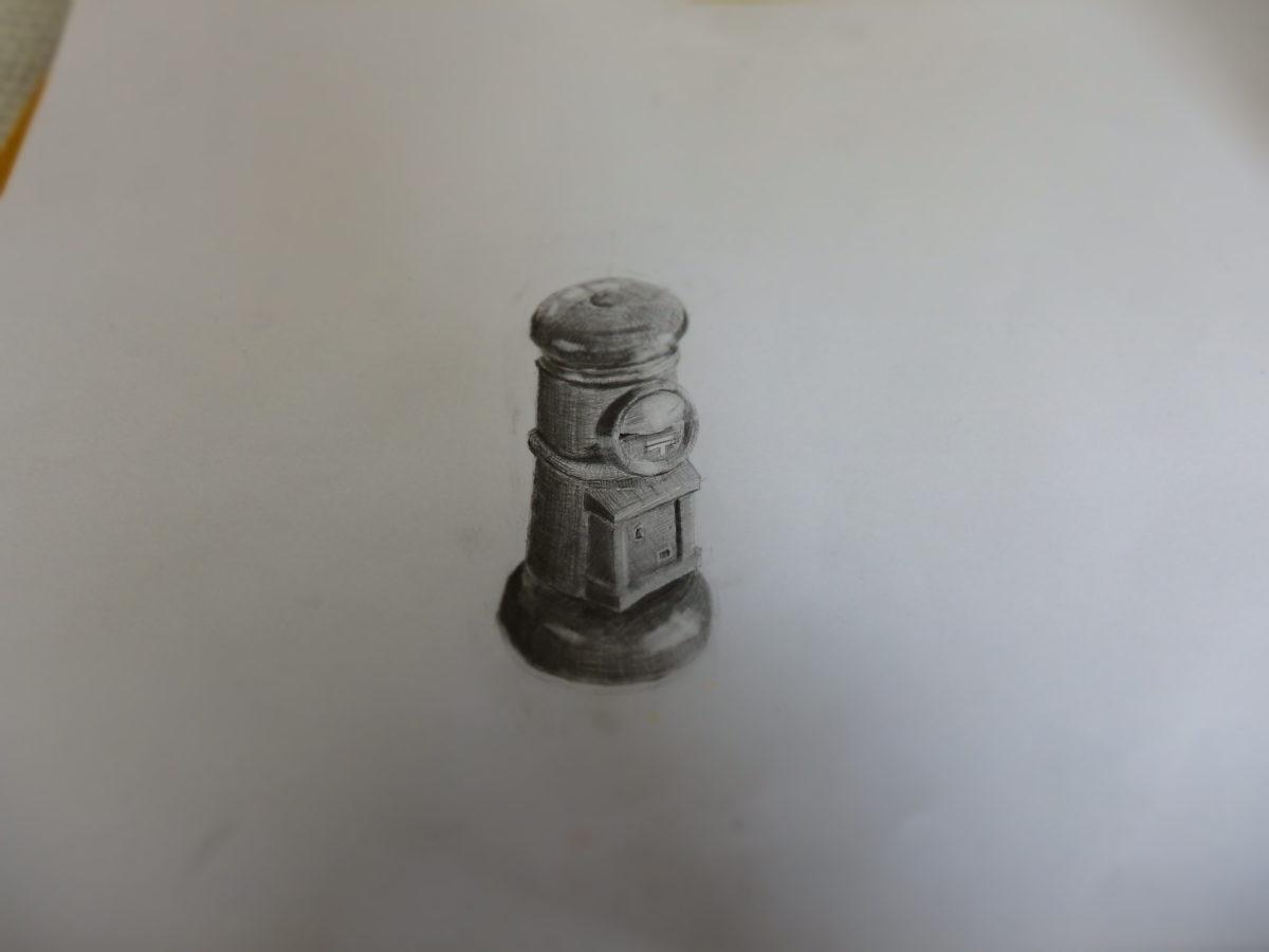 基本 鉛筆デッサン