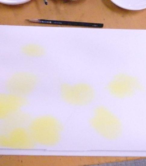 水彩で描く 草花