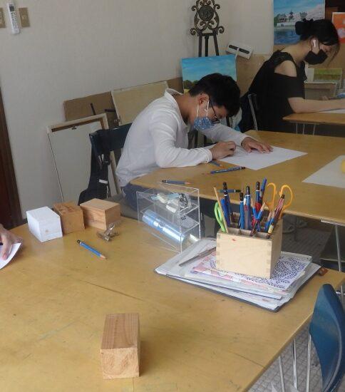 鉛筆デッサンを学ぶ